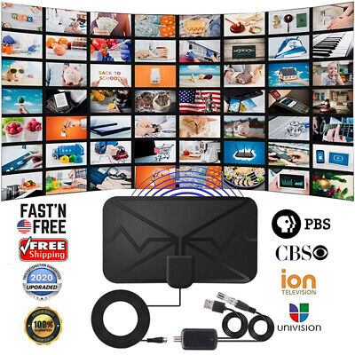 3600 Miles TV Antenna, Upgraded Newest HDTV Indoor Digital Amplified TV Antennas