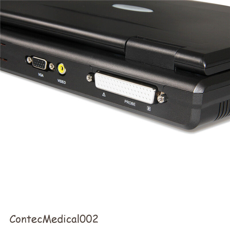 NEW PORTABLE ULTRASOUND SCANNER LAPTOP MACHINE 2 PROBES CONVEX & LINEAR,USA FEDEX