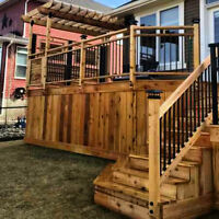HIGH QUALITY DECKS & FENCES. BOYD CONTRACTING LTD