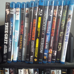 Blu-rays for sale