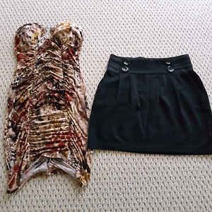 Dress and skirt size small