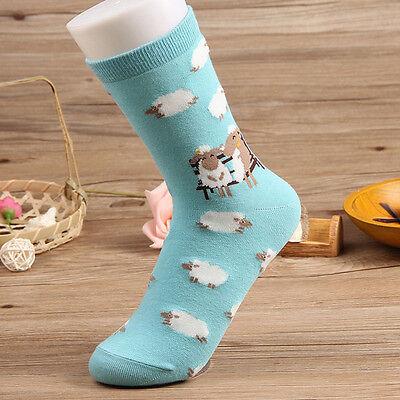 Small Animal Cotton Cartoon Cat Harajuku Socks Women Cute Warm Cozy Xmas Socks