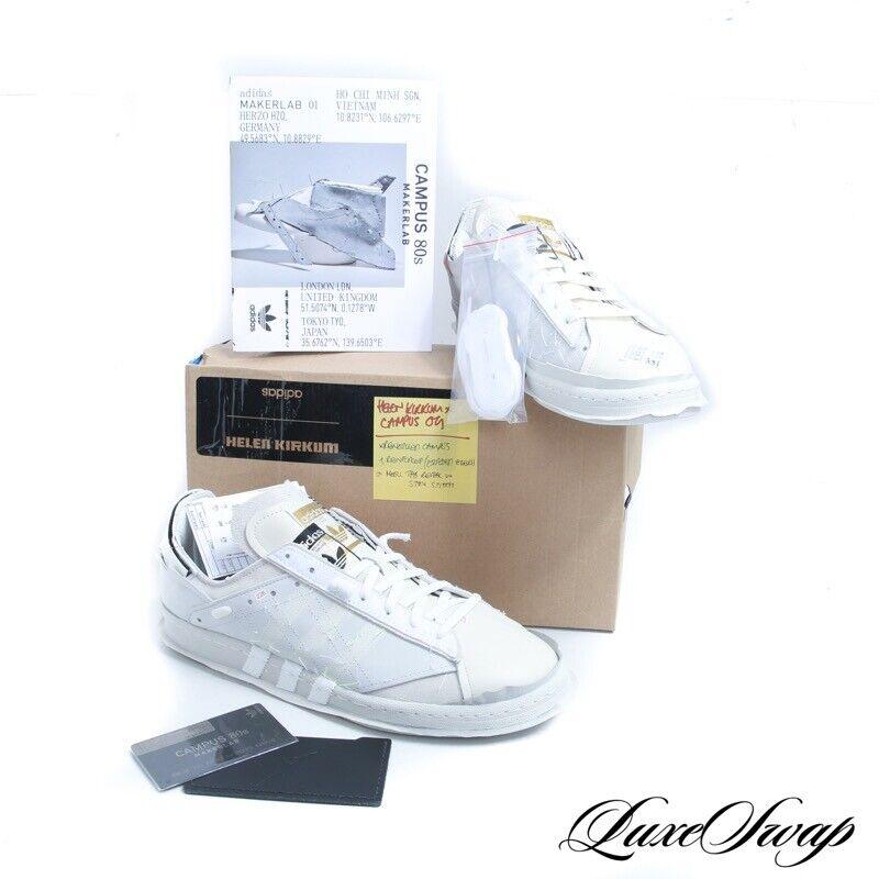 RARE NIB Adidas Campus 80s HK Low By Helen Kirkum FW7618 Patchwork Sneakers 10