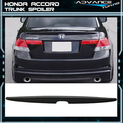 08-12 Honda Accord Sedan 4Dr Unpainted ABS Rear Trunk Spoiler for sale  La Puente