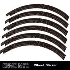 Two Wheel Rim Sticker Outline Stroke for M70 HV MTB Mountain Bike Cycling Decal