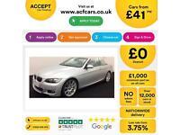 BMW 330 3.0TD auto 2008MY d M Sport FROM £41 PER WEEK!