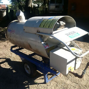 350,000 BTU Natural gas or propane Frost Fighter