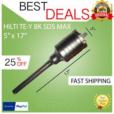 Hilti Te-y Bk Sds Max Core Bit 5 X 17 New Free Hilti Hat Fast Shipping