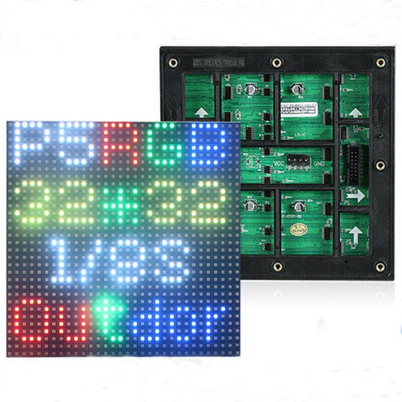 40pcs P5 outdoor LED matrix screen module 160x160mm 32x32 pixels RGB full color
