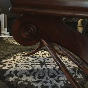 Classic Mahogany Duncan Phyfe Style Table Strathcona County Edmonton Area image 1
