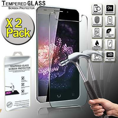 2 Pack Tempered Glass Screen Protector Cover For Videocon Q1 V500k