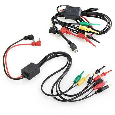 2 Alligator Clips 2 Banana Plugs 4 Hook Clips Power Supply Test Lead Cable Kits