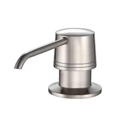 NEW Satin Nickel Soap Dispenser Pump Kitchen Bathroom Heavy Duty