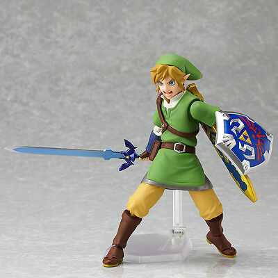 Max Factory Figma 153 The Legend Of Zelda Skyward Sword Link Action Figure