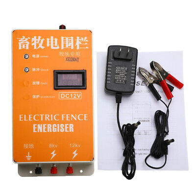 Xsd-280a Solar Electric Fence Energizer Electric Fencing Charger Controller