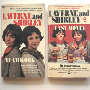 Vintage 1970's TV Show Laverne & Shirley Books 1 & 2