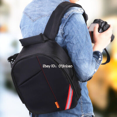 Small Light Waterproof Professional Camera Backpack Insert Case For Canon Nikon