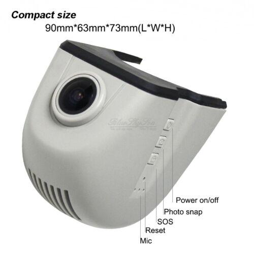 hd wifi car dvr night vision camera video recorder dashcam audi a7 q5 13y 15y ebay. Black Bedroom Furniture Sets. Home Design Ideas