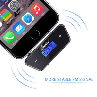FM transmitter for iPhone/Samsung/HTC/etc.