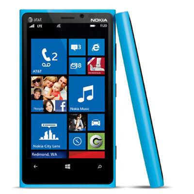 "Nokia Lumia 920 - 32GB - Blue (AT&T) 4.5"" LTE Smartphone"