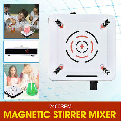 2400rpm Magnetic Stirrer Mixer Plate Stirring 1000ml Machine 25w Lab Plate