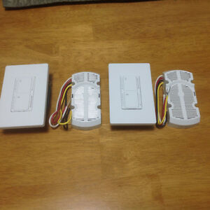 Lutron Single Pole Lighting & Fan Control switch and Module St. John's Newfoundland image 1