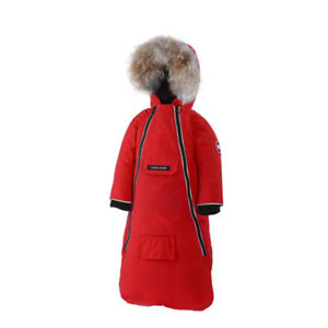 Canada Goose baby bunny bunting - 12 months - Red