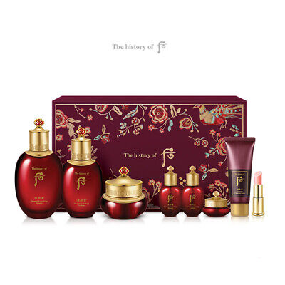 The History of Whoo Essential Revitalizing Skin care Set Anti-aging K-Beauty