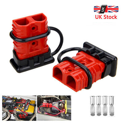 UK Car Auto Battery Quick Connect Disconnect Power Wire Cable Connector Plug 50A