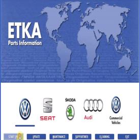 Elsawin VAGCOM Etka AUTODATA AUTO SERVICE & REPAIR DIAGNOSTICS