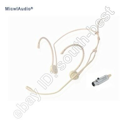 Accordion Cardioid Headmic Headset Microphone for AKG Samson Wireless Mics 3pin