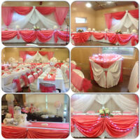 CHAIR COVERS FOR RENT ON SPECIAL FOR ONLY .89 CENTS!!
