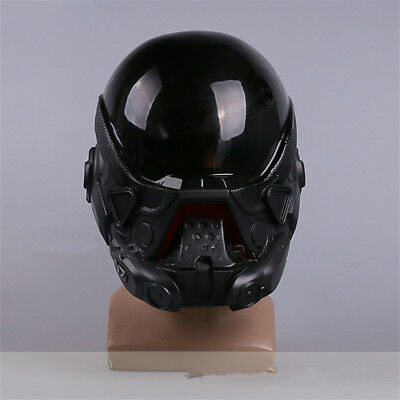 Mass Effect Same Paragraph Cosplay Helmet Game Mask Halloween Makeup Party PVC - People Halloween Masks