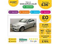 Mercedes-Benz C220 FROM £36 PER WEEK!