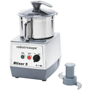 Robot Coupe Blixer 5 Food Processor with 5.5 Qt. Stainless Steel