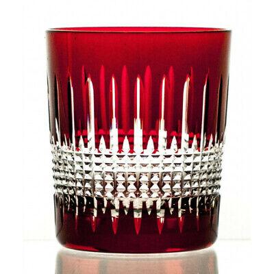 Set 6 Cristal Color Vasos de Whiskey Copas de Cristal Agua de...