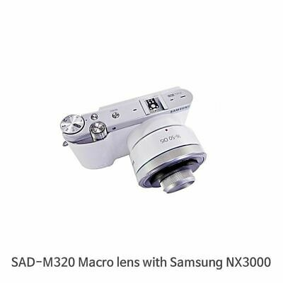 Macro Lens For Samsung NX100,NX300,500,1000,2000,3000 Series with 16-50mm lens.