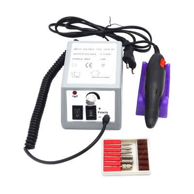 Torno De Uñas 20000 RPM+6 Puntas Manicura Pedicura Profesional Manicura Cuidados