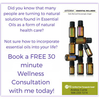 Essential Oil Health Education-  Free Wellness Consult Service