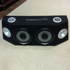 Speaker Box With 6'' Pioneer Mid-Ranges