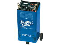 Draper 40180 Expert 300 amp Battery Charger / Jump Starter Booster & Trolley