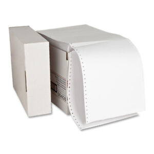 Computer Paper, Plain, 9-1/2 x 11 Inches, 2300 Count, a box
