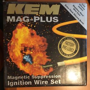 KEM MAG-PLUS 11-4046M CUSTOM IGNITION WIRE SET 7376