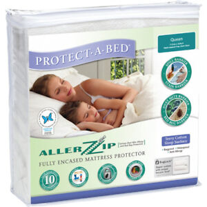BRAND NEW Mattress + Pillow Protector for Bed Bugs / Allergens