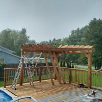 Custom decks gazebos and pergolas