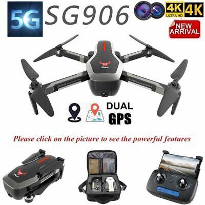 SG906 GPS Brushless 4K Drone w/Camera Handbag 5G Wifi FPV Foldable Quadcopter US
