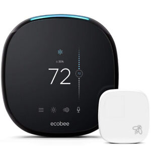 Ecobee4 Alexa-Enabled Thermostat with Sensor (Works with Alexa