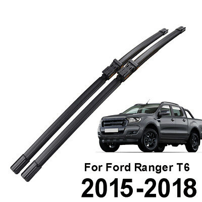(Front Windshield Wiper Blades Fit For Ford Ranger T6 2015 2016 2017 2018 24