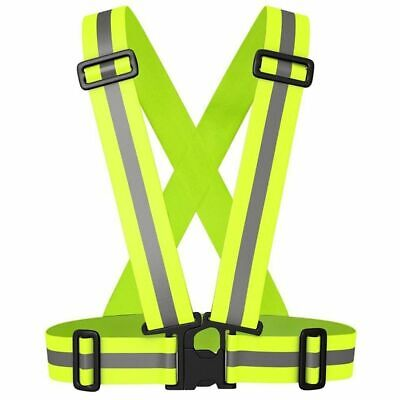 Safety Vest Construction Traffic Warehouse Security Jacket Reflective Strips