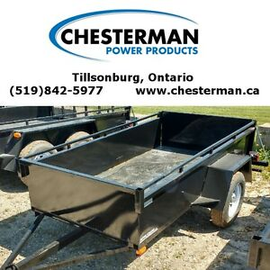 2016 Advantage 4x7 Steel Utility Trailer (BT483) London Ontario image 1
